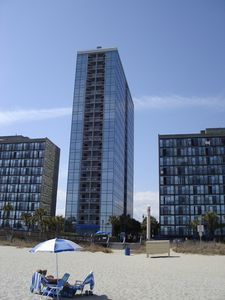 Photo for Seaglass Tower Overlooks 60 Miles Of Beautiful Beach.