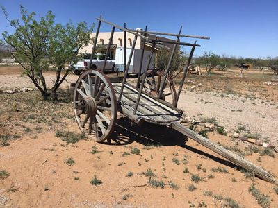 Vintage cart which I hope to some day hook up to the neighbor's mule Khaleb.