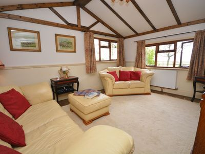 Lounge with far reaching countryside views