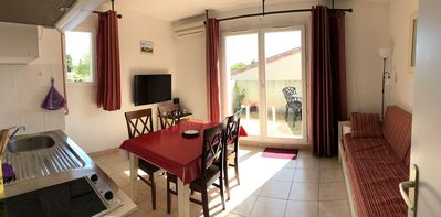 Photo for T2 furnished in residence of tourism - 32m2