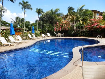 Spacious, Clean, Comfortable Condo Includes 1st Breakfast  In Poipu