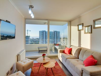Photo for Modern condo with shared pool, gym, lounge and easy beach access!