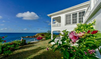 Photo for Antigua's Best Oceanfront, Serene Beach Home