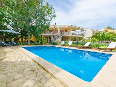 Photo for CA NA MARIA - Villa with private pool in SA COMA.