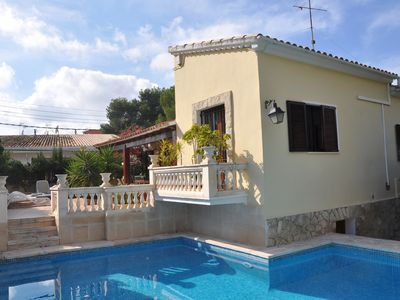 Photo for Elegant Family Villa Situated In Central Palmanova w/Gardens & Wonderful Pool