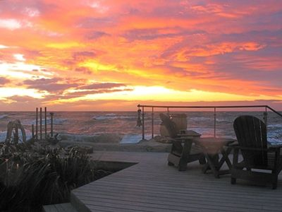 Photo for Amazing Sunsets/Spectacular Surf/Stunning Views, Hot Tub!