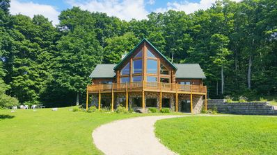 Photo for Family-friendly log home between Harbor Springs, Petoskey, and Mackinaw Island