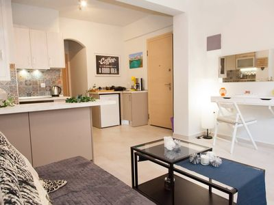 Photo for Charming Apartment in Mets/Central Athens minutes from Syntagma