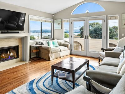 Photo for 4BR w/ 180-Degree Bay Views - Walk to Monterey Bay Aquarium & Cannery Row