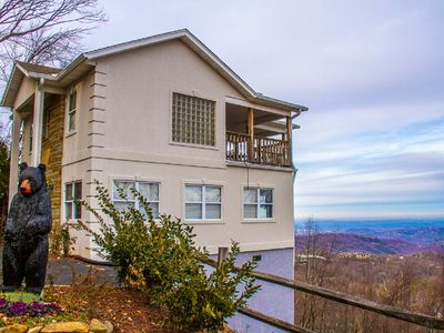 Photo for Amazing VIEWS of The Great Smokies & DT Gatlinburg/Hot Tub/Wifi/Pool Table
