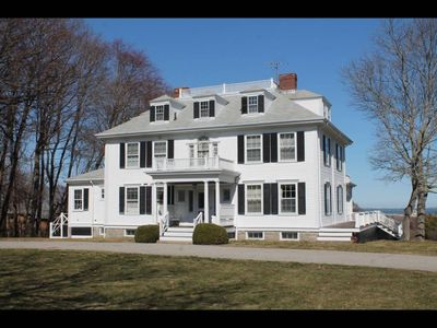 Photo for Beautiful large home overlooking Plymouth Bay