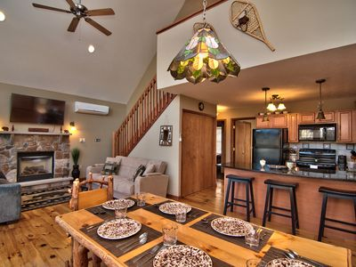 Photo for Newly Updated Chalet-A/C-Pool Table- Master Suite-Skiing-Whitewater-Waterparks