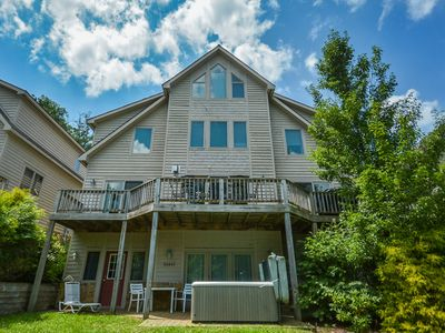 Photo for Marvelous 5 Bedroom townhome w/ hot tub offers in the heart of Deep Creek!