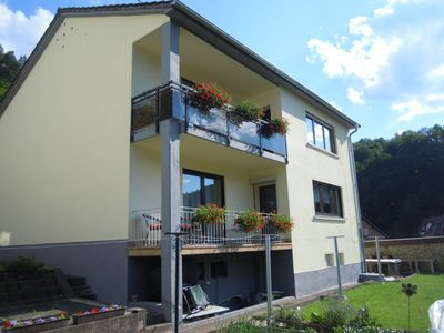 Photo for Apartment in a fantastic location with unobstructed views over Elmstein
