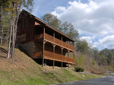 Photo for 2 Bedroom Cabin Close to Pigeon Forge Parkway with Hot Tub and Pool Table