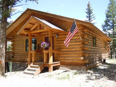 Photo for Listen to the Magnificent Waterfall with Alpine Loop Access at this Cozy Cabin!!