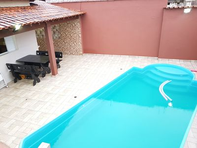 Photo for House 3 with Pool, and Barbecue 2 min from the beach