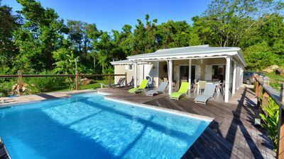 Photo for Superb 3 bedroom villa with sea view