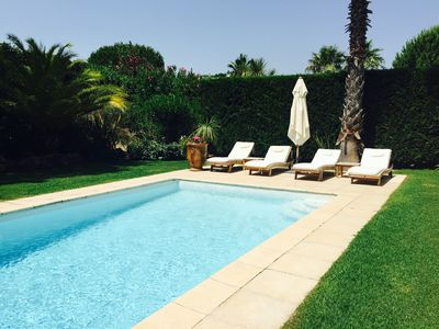 Photo for SAINT-TROPEZ VILLA IN GATED ENCLAVE 5 MINUTES FROM CENTER OF ST-TROPEZ AND BEACH