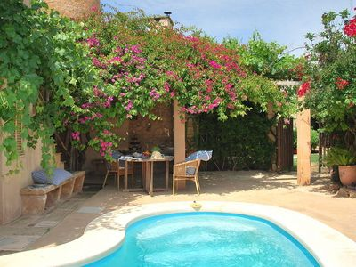 Photo for A charming house, full of atmosphere and a private swimming pool.