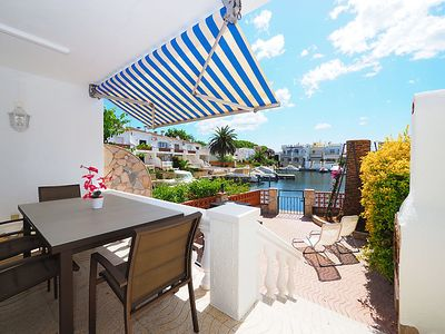 Photo for Vacation home Port Llobregat in Empuriabrava - 6 persons, 3 bedrooms