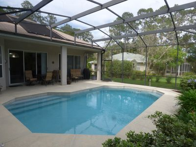 Photo for Beautiful Golf Course Home with Saltwater Pool is Your Perfect Getaway