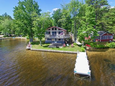 Photo for Year Round Lakefront House on Pine River Pond!