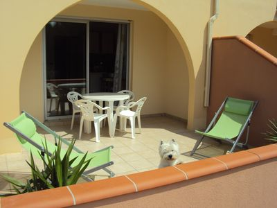 Photo for 2 room apartment in residence with swimming pool - last minute prices