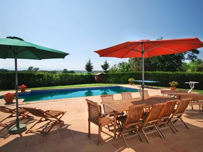 Photo for Club Villamar - Beautiful country house with a modern interior and colorful, a private pool, a la...