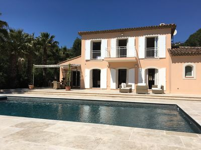 Photo for The Mas Rose: Beautiful Villa with Pool and Garden Grimaud St Tropez