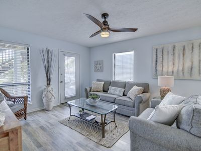 Photo for *Groundfloor Condo* w/Ocean View Steps from Beach