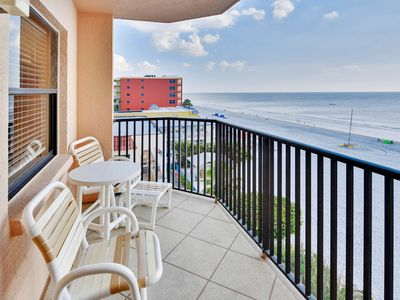 Photo for Emerald Isle #401- Beautiful updates! Beach front/Amazing view from balcony!