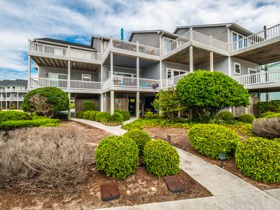 Photo for So Flippin Happy: 3 BR / 3 BA ocean view town house in Surf City, Sleeps 6