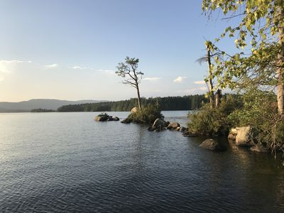Photo for Private Squam camp with gorgeous views