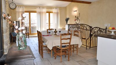Photo for DROME PROVENCAL Cottages in Big House inside the Castle of Alencon