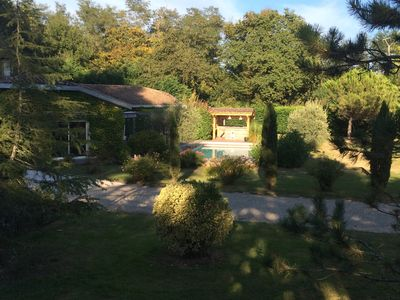Photo for House near Bordeaux, quiet, large wooded grounds, swimming pool