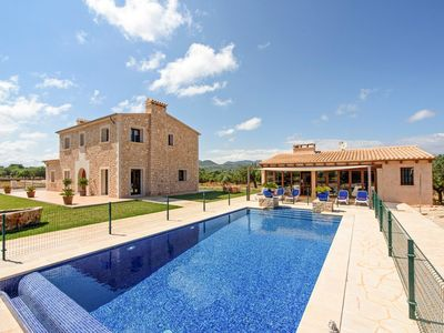 Photo for 4 bedroom Villa, sleeps 8 with Pool, Air Con and FREE WiFi