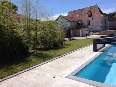 Photo for Warm House + pool covered near Rocamadour
