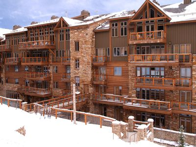Photo for Luxury 3Br Ski In-Out Condo/Firepit, pool, sauna