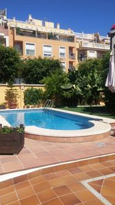 Photo for Villa with private pool at 250 m. from the beach and 15 minutes from the center of Malaga
