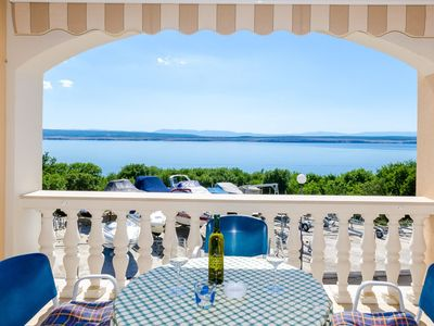 Photo for 1BR Apartment Vacation Rental in Dramalj, Kvarner Bucht