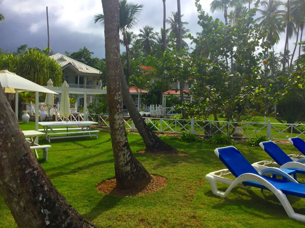 Lovely and magnificent bungalow close to the beach in the garden of ...