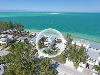 Photo for Serendipity - Beach Front Home on Bean Point , Anna Maria