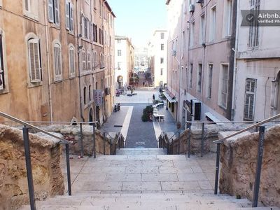 Photo for Studio in the heart of Old Port of Marseille, 4 people, air conditioned