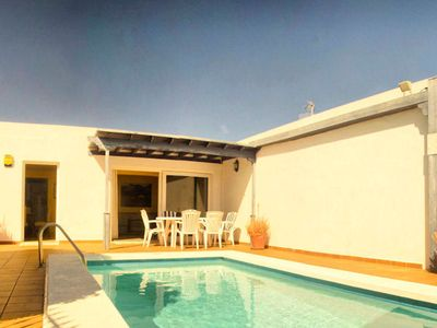 Photo for Villa Lapa is located in Puerto del Carmen. It is a well equipped standard villa, comfortable and on