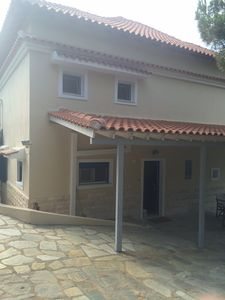 Photo for Modern villa in Kanapitsa, Skiathos