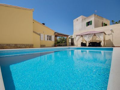 Photo for Cottage with private pool - only 500 m to the beach Son Moll