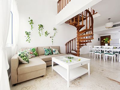 Photo for Amazing 3BR Penthouse, private beach, Playa Turquesa Ocean Club!