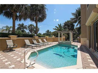 Photo for 5 Bedroom Home, Easy Walk To The Beach, Very Private Pool Setting