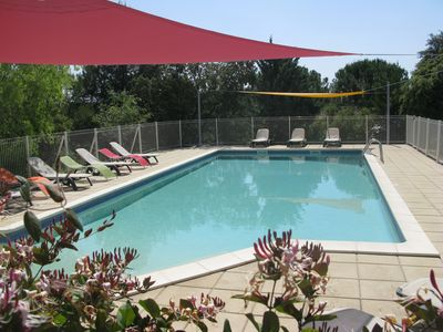 Photo for GITE CAVALIER comfortable and air conditioned with pool